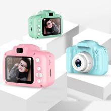 Children Kids Camera Mini Digital Camera 2 Inch Cartoon Cute Toys For Children Baby Gifts Toddler Toys portable camera