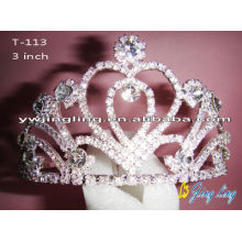 Heart Valentine's Day Pageant Tiaras