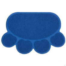 PVC coil foam backing embossed door mat
