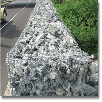 Anping hot dipped galvanized gabion wire mesh baskets