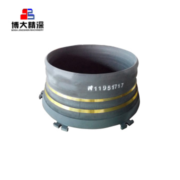 Manganese Casting Concave Spares Crusher Ch870 Wear Parts