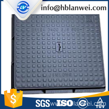 EN124 D400 Ductile iron self sealed manhole cover