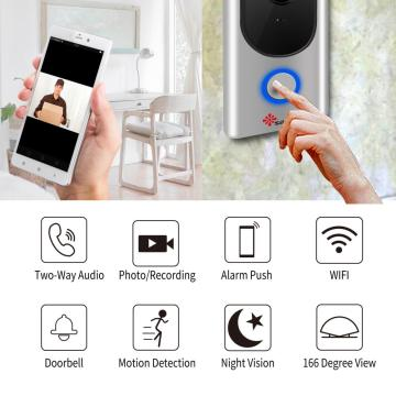 Smart WiFi Video Doorbell Camera APP Control