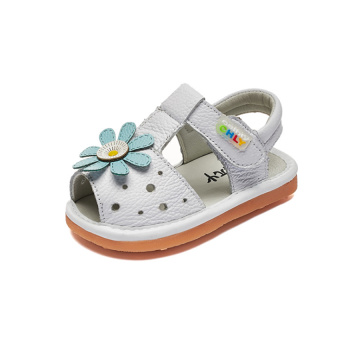 Girls Toddler Genuine Leather Summer Sandals
