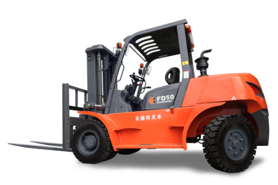 High Exhaust Forklift