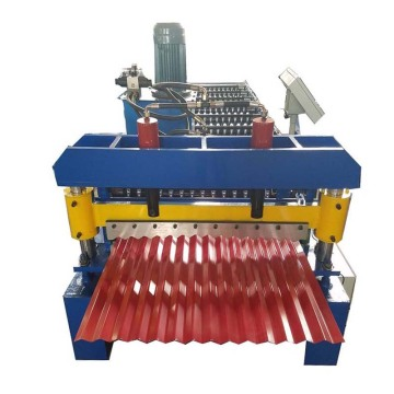 Metal Roofing Sheet Corrugating Iron Roll Forming Machine