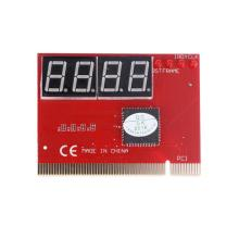 PC 4-digit Code Mainboard Motherboard Diagnostic Analyzer Tester PCI Card with Dual POST code display