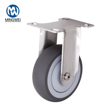 Stainless Steel Non Swivel Castors