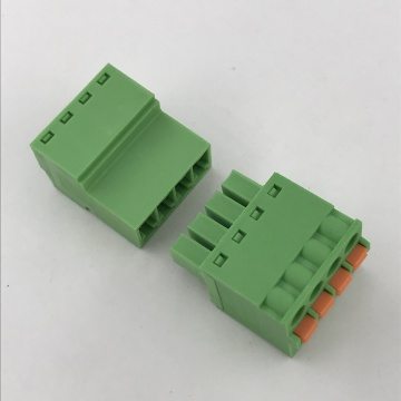 3.81mm pitch 4 pin spring pluggable terminal block