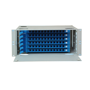 Telecommunication Fiber Optic Equipment 4U Rack ODF Box