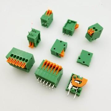50Pcs 2.54mm Pitch Screwless Terminal Block Phoenix Push-in Spring Connector KF141V-2.54mm 2P3P4P5P6P7P8P9P10P PCB Terminals