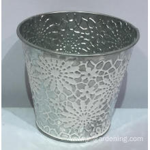Metal color carving bucket