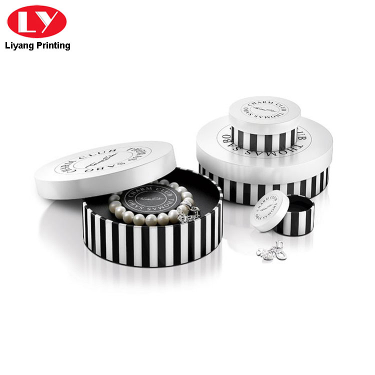 Round Jewelry Box for Bracelet Packaging