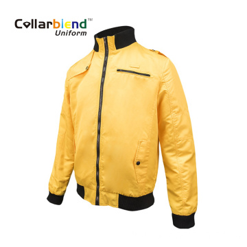 Outdoor winter men yellow work hard shell jacket