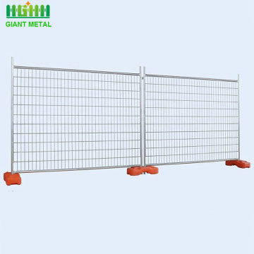 Welded galvanized temporary fence