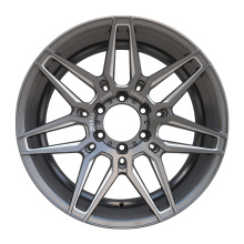 Aftermarket Alloy Truck Wheel 6X139.7 Gunmetal Milled