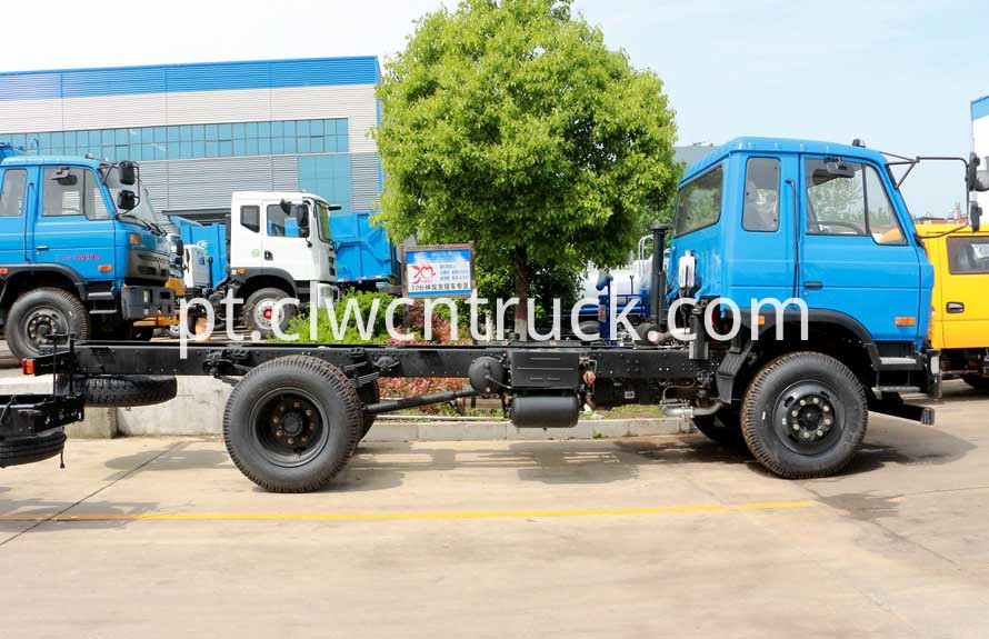 dongfeng water wagon chassis pictures 2