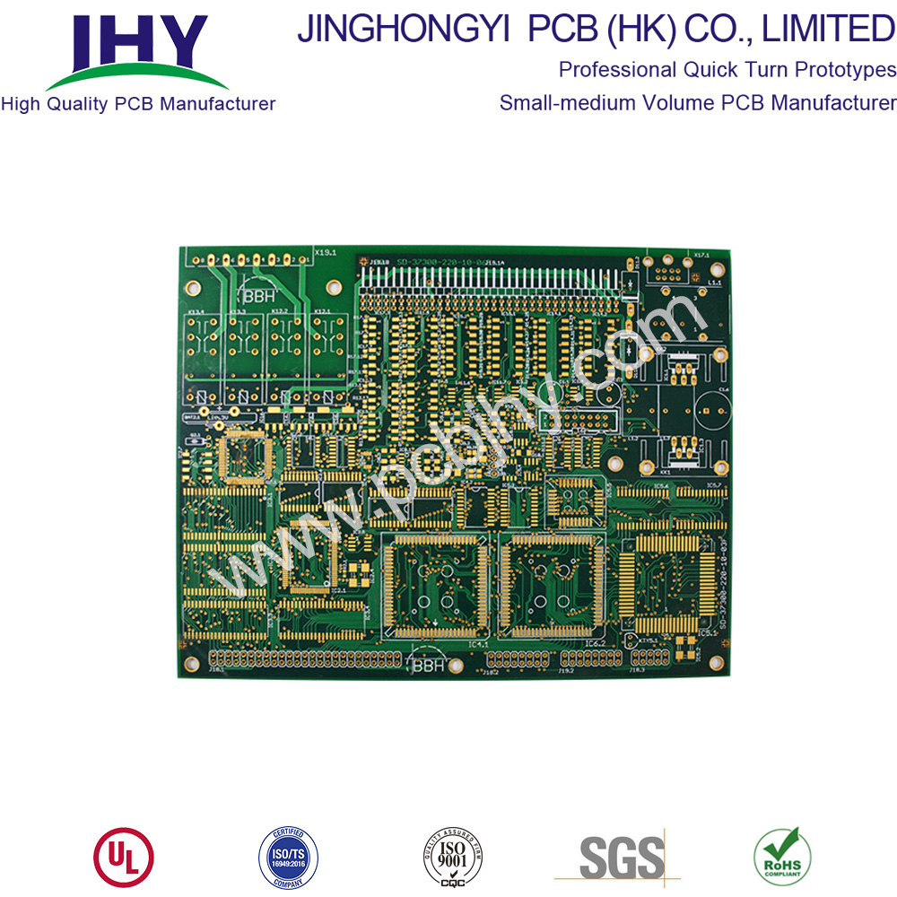 1.6mm Immersion Gold 1oz 8 Layer PCB