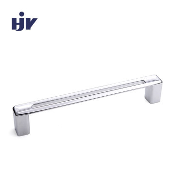 Bespoke hotel furniture pulls chrome modern polished handles 160mm