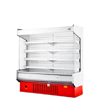 Multideck display cooler for drinks fruits and vegetable