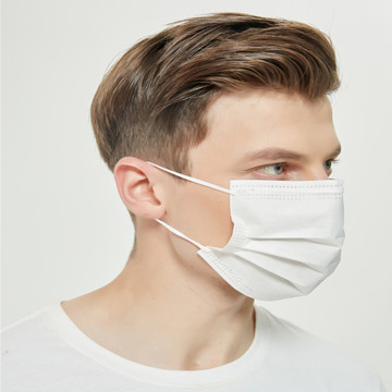 Factory Sale 3Ply Protective Paper Face Mask