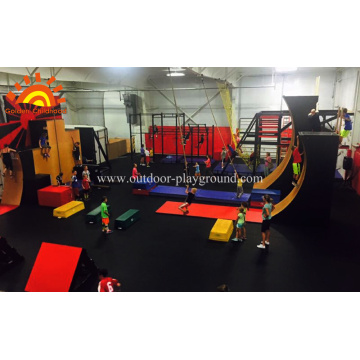 Commercial Ninja Warrior Gym Indoor For Sale
