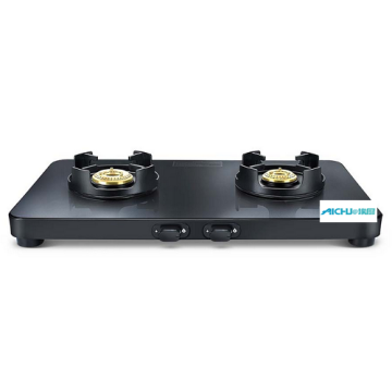Presige Black Gas Stove 2 Burners