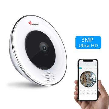3MP panoramic 360 degree wifi camera