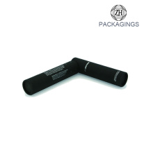 Black matt e-liquid cardboard tube packaging