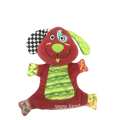 Hand Puppet Dog Toy Red