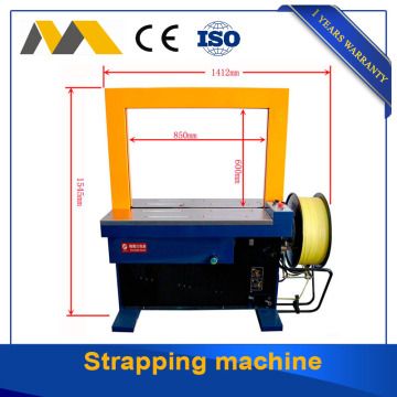 Customized double motos high speed strapping machine for sale