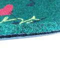 Waterproof door mat embroidery trendy mats stock