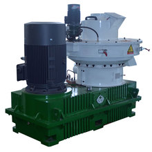 Running stability wood pellet mill