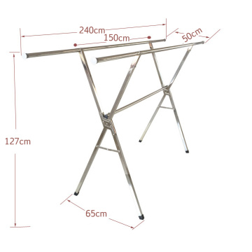 Extendable Clothes Drying Clothes Rack