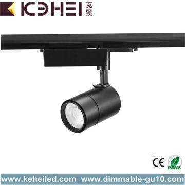 Black Dimmable LED Track Lights 18W CE RoHS