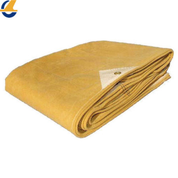 Waxed cotton canvas waterproof tarpaulin