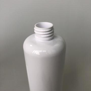 round PET bottle with gun pump 250ml