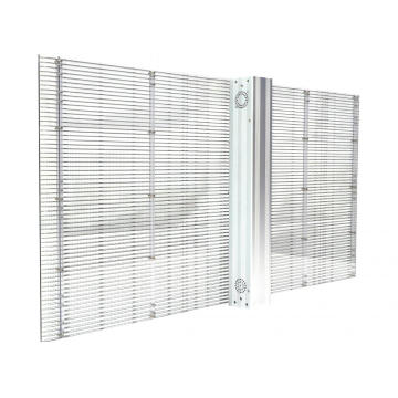 Indoor and outdoor Apexls transparent video screen