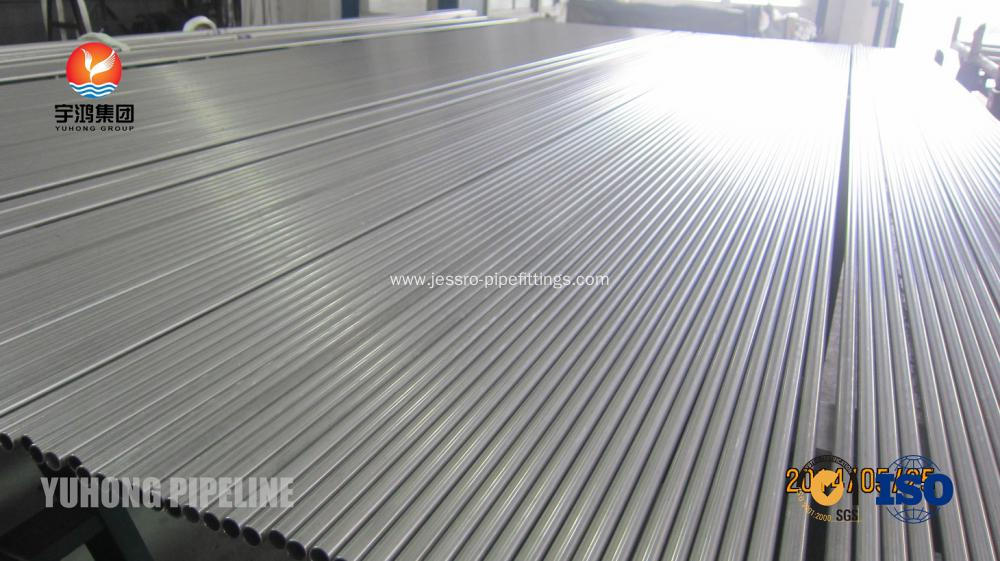 Bright Annealed Stainless Steel Tube ASTM A213 ASME SA213-10a TP304 TP304H TP304L for heat exchanger