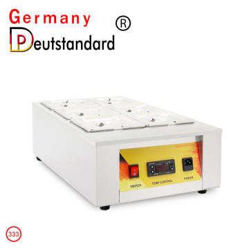 CE with 6 cylinder chocolate melting tempering machine
