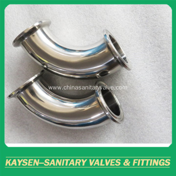 ISO/IDF Sanitary Elbow 90 Degree clamped