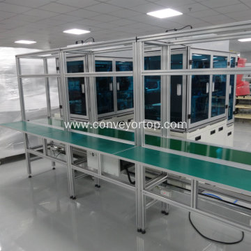 Industrial Mobile Food Grade Conveyor Belt Production Line