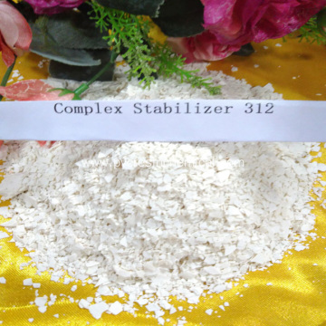 Chemical White Flake Compound PVC Lead Heat Stabilizer