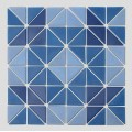 Blue Glass Mosaic Tiles For Swimming Pool Spa