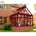 Glass Portable Garden Retractable Roof Sun Room