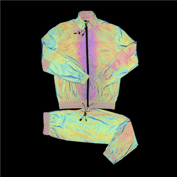 Reflective Rainbow Color Changing Jacket
