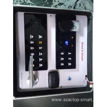 Smart hotel show box with portable