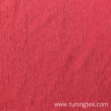 Dyed Knitted Crinkle Fabric