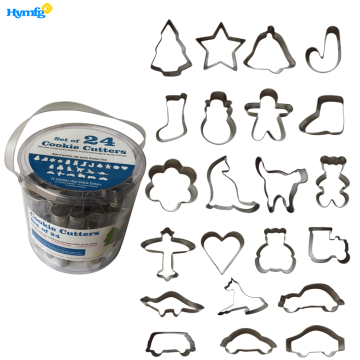Set of 24 pcs Christmas Cookie Cutters Amazon