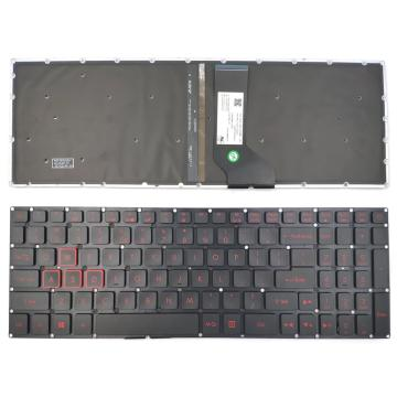 New For Acer Nitro 5 AN515-51 N17c1 AN515-52 AN515-53 Series Laptop Keyboard US Black With Backlit Without Frame